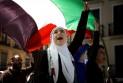 Ilustrace k článku: Pred sídlom únie vztýčili palestínsku vlajku (24 hod)